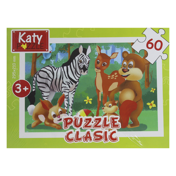 PUZZLE 60 PIESE 101 KATY CLASIC