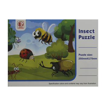 PUZZLE 24 PIESE INSECTE